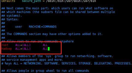 CentOS7 Hadoop安装教程